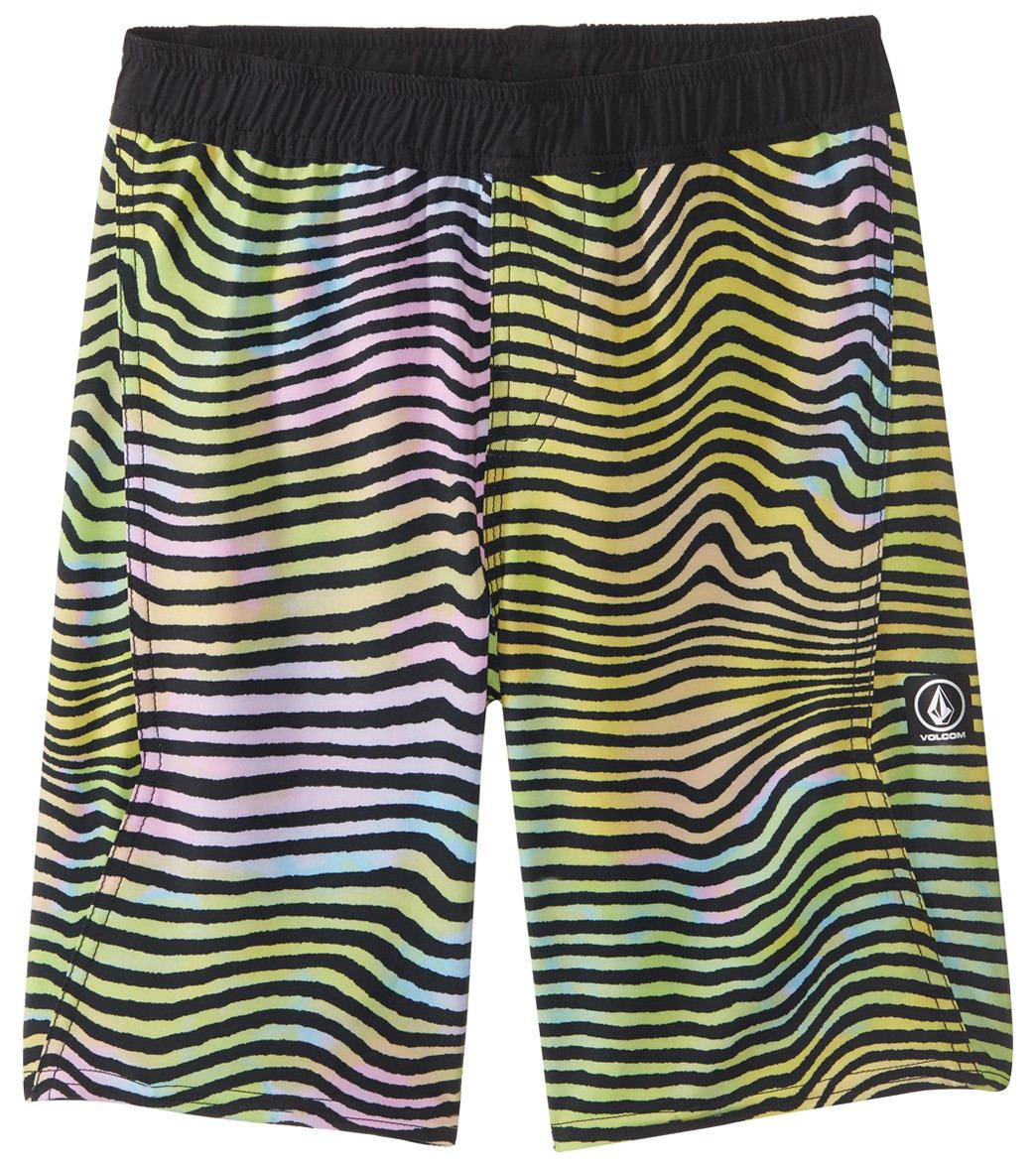 5251c9e2261 Volcom Boys' Vibes Volley Boardshort (Toddler, Little Kid, Big Kid) at  SwimOutlet.com
