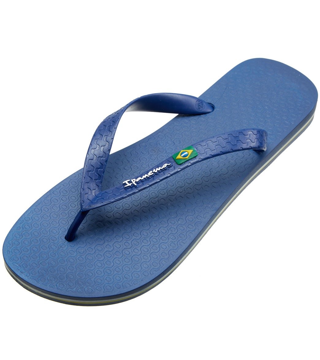 1cdb9dc28035fc Ipanema Men s Classic Brazil II Flip Flop at SwimOutlet.com