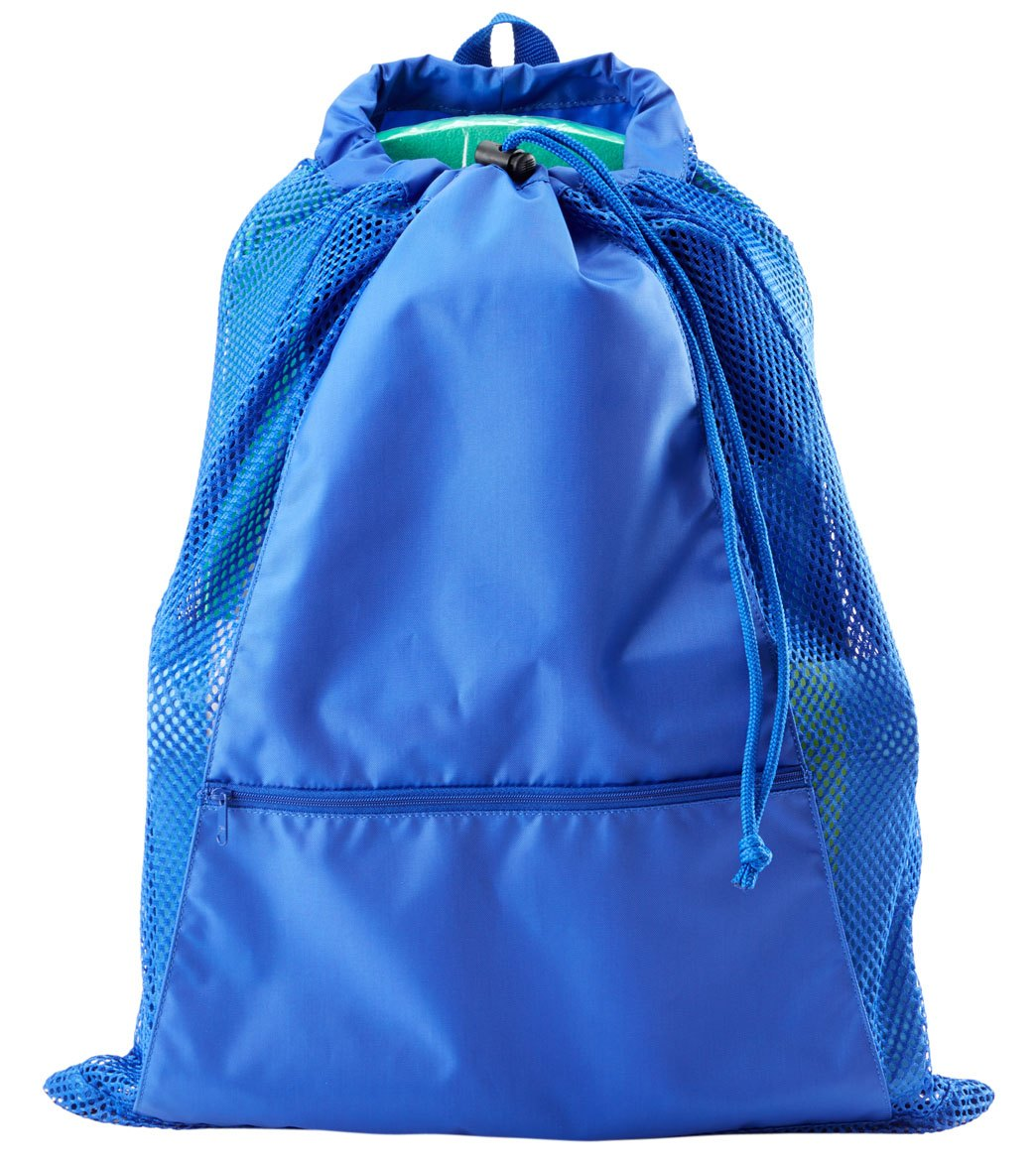 77758a5619 Sporti Premium Color Block Mesh Backpack at SwimOutlet.com