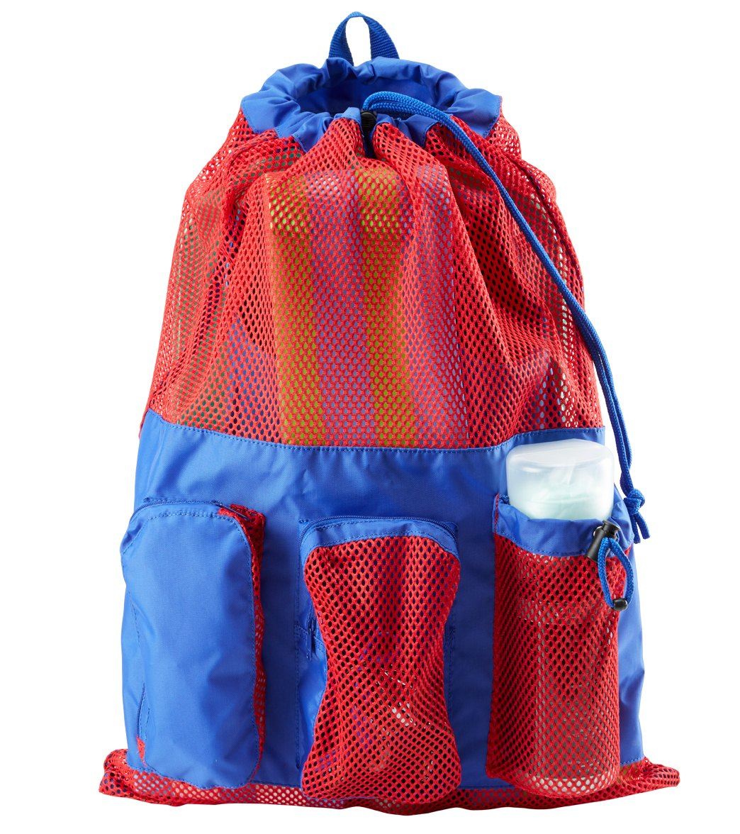e27846dd33 Sporti Equipment Color Block Mesh Backpack at SwimOutlet.com