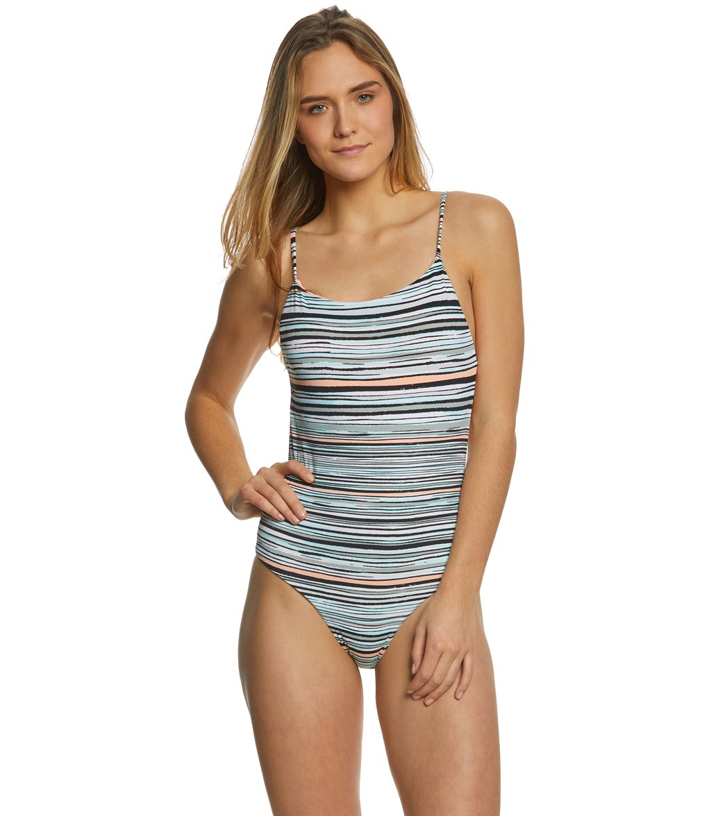 822244c03e Roxy Women s Girl Of The Sea One Piece Swimsuit at SwimOutlet.com - Free  Shipping