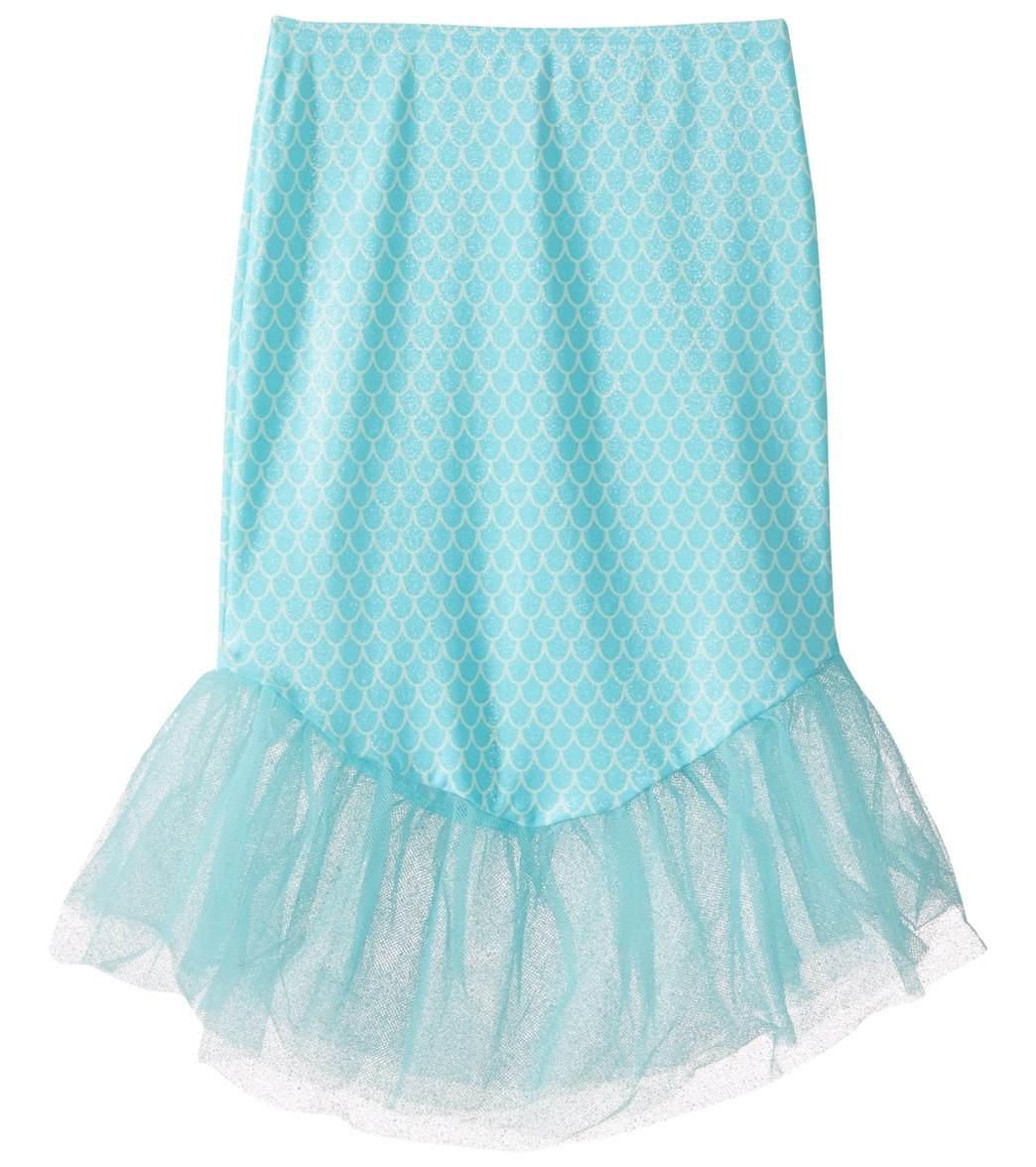 ed84ac6d92 Hula Star Girls' Mermaid Princess Cover Skirt (Little Kid) at SwimOutlet.com