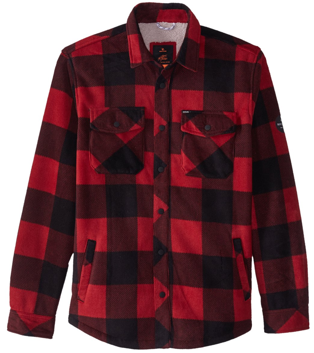 30063843d521 Rip Curl Men s El Cap Flannel Jacket at SwimOutlet.com - Free Shipping