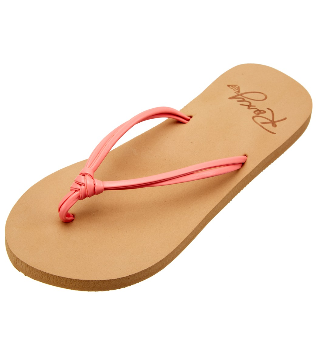 5600e15624a9be Roxy Girls  Lahaina II Flip Flop (Little Kid