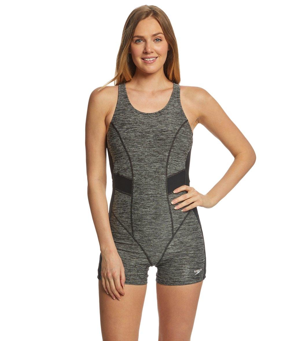 Speedo Women s Heather Bodysuit Swimsuit at SwimOutlet.com - Free Shipping 061d76478