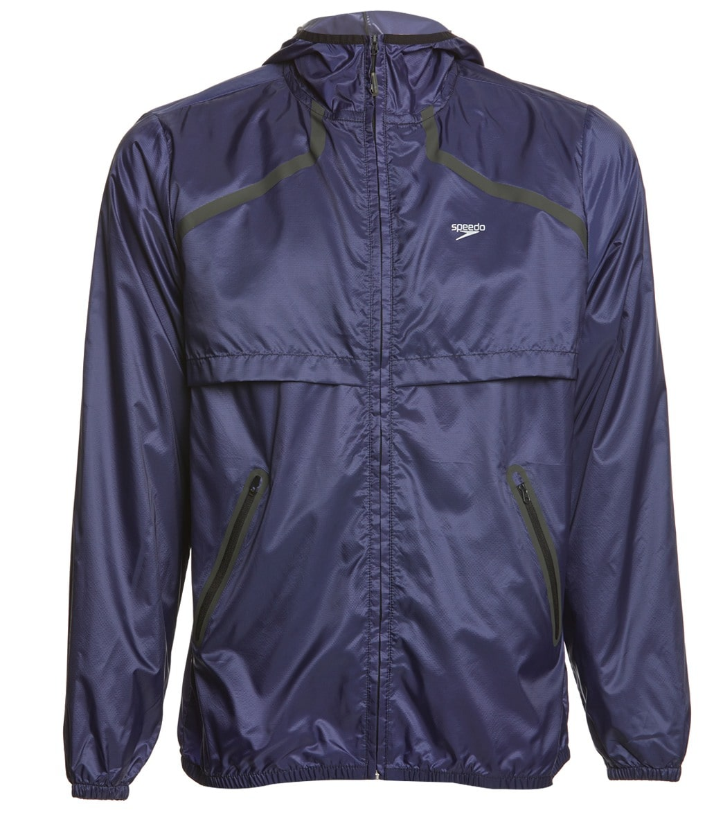 798463009962f Speedo Men's Light Weight Woven Jacket at SwimOutlet.com - Free Shipping