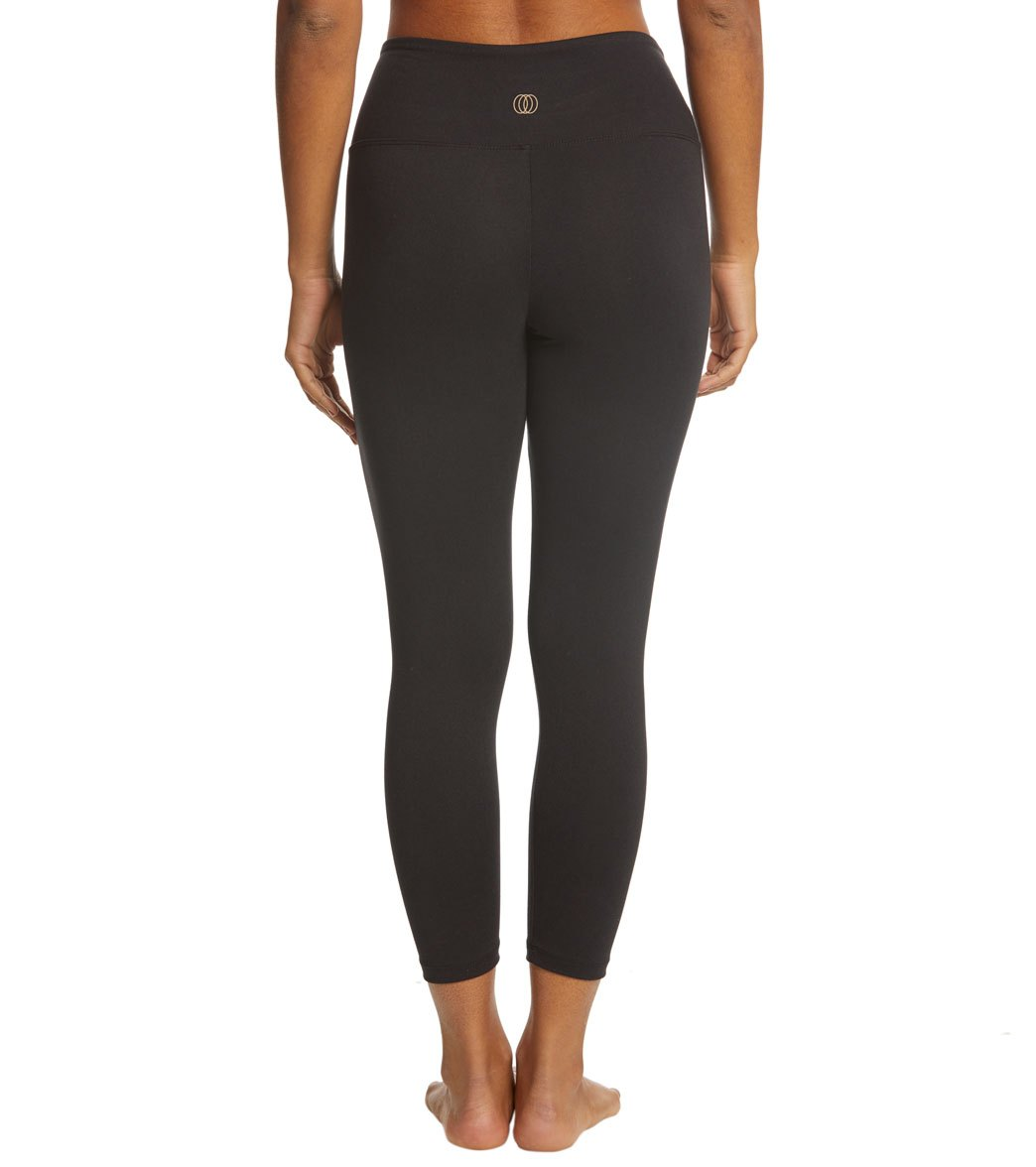 76cdbad326 Balance Collection Solid High Waisted Yoga Capris at YogaOutlet.com ...