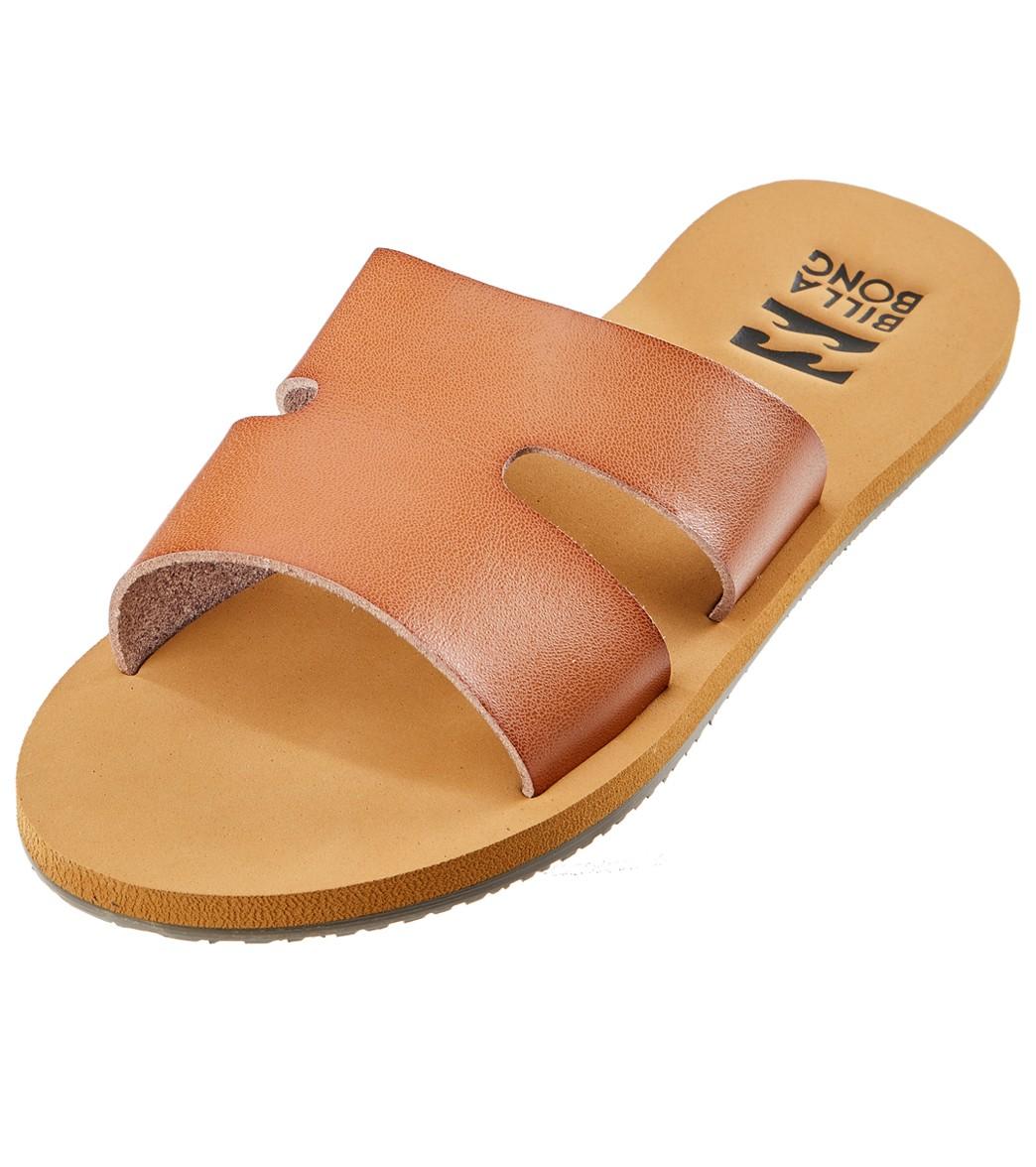 7ed7d5c6d Billabong Women s Wander Often Leather Slide Sandal at SwimOutlet.com