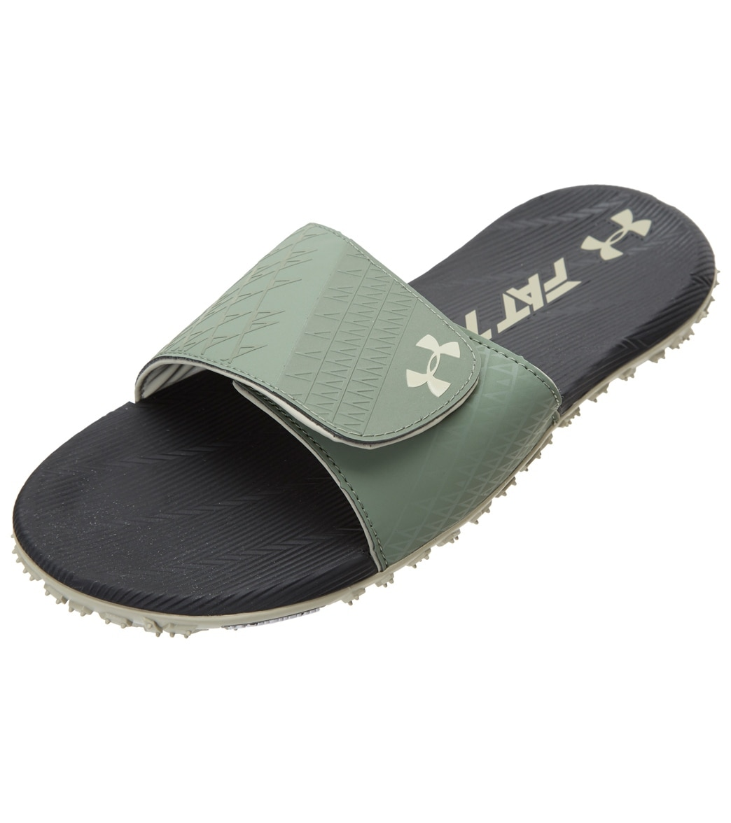 b4ba4218aa9d Under Armour Men s Fat Tire Slide Sandal at SwimOutlet.com - Free Shipping
