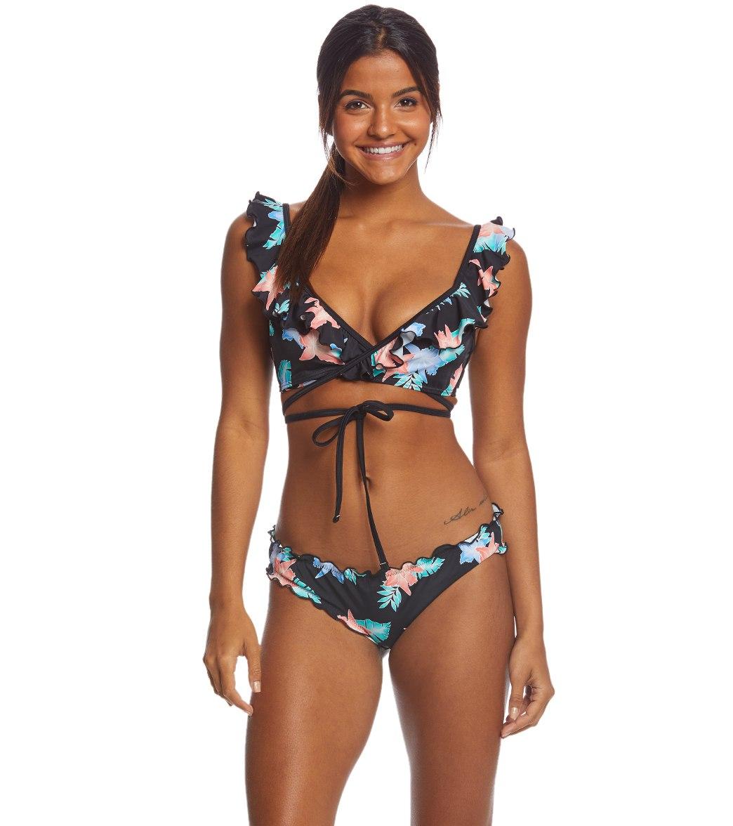 16b3a864e4f0f Coco Rave Miami Spice Brooke Wrap Bikini Top (B C D Cup) at ...