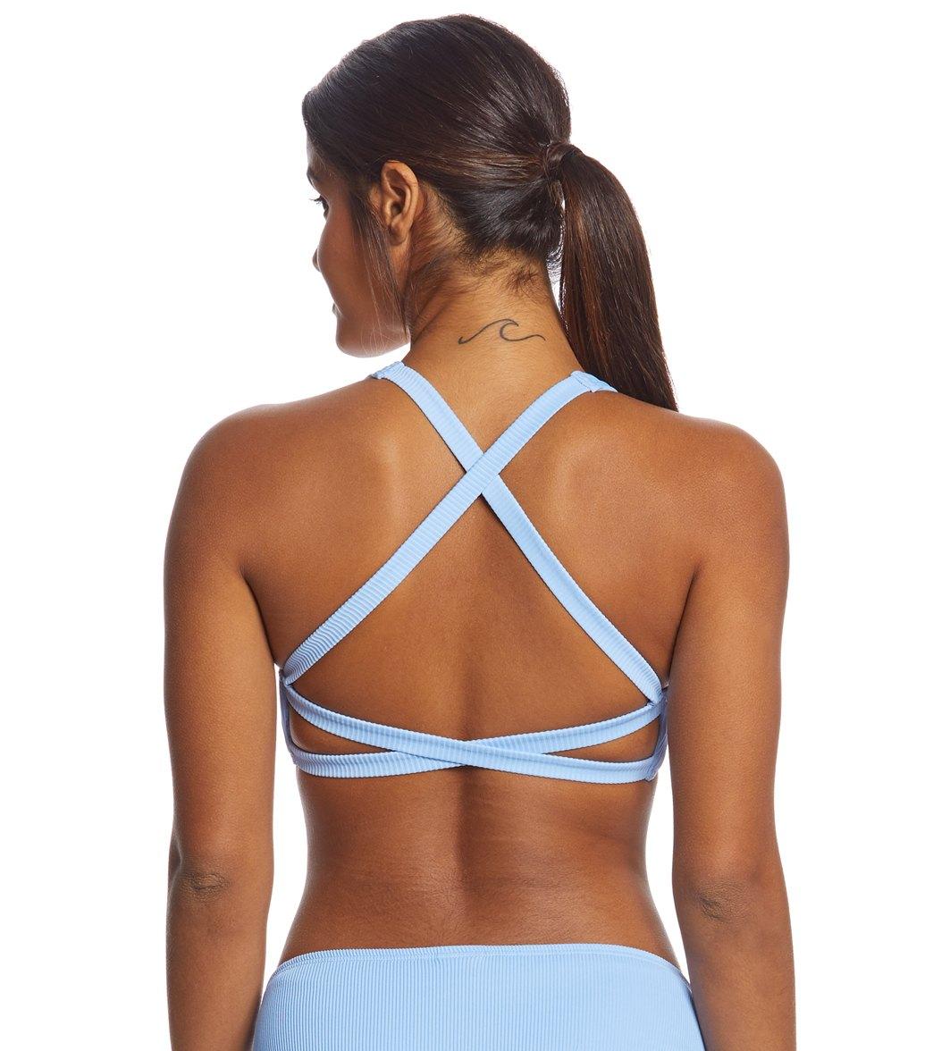 8407c079522d2 Coco Rave Good Vibrations Cyndi Double X-Back Bikini Top (B C D Cup ...