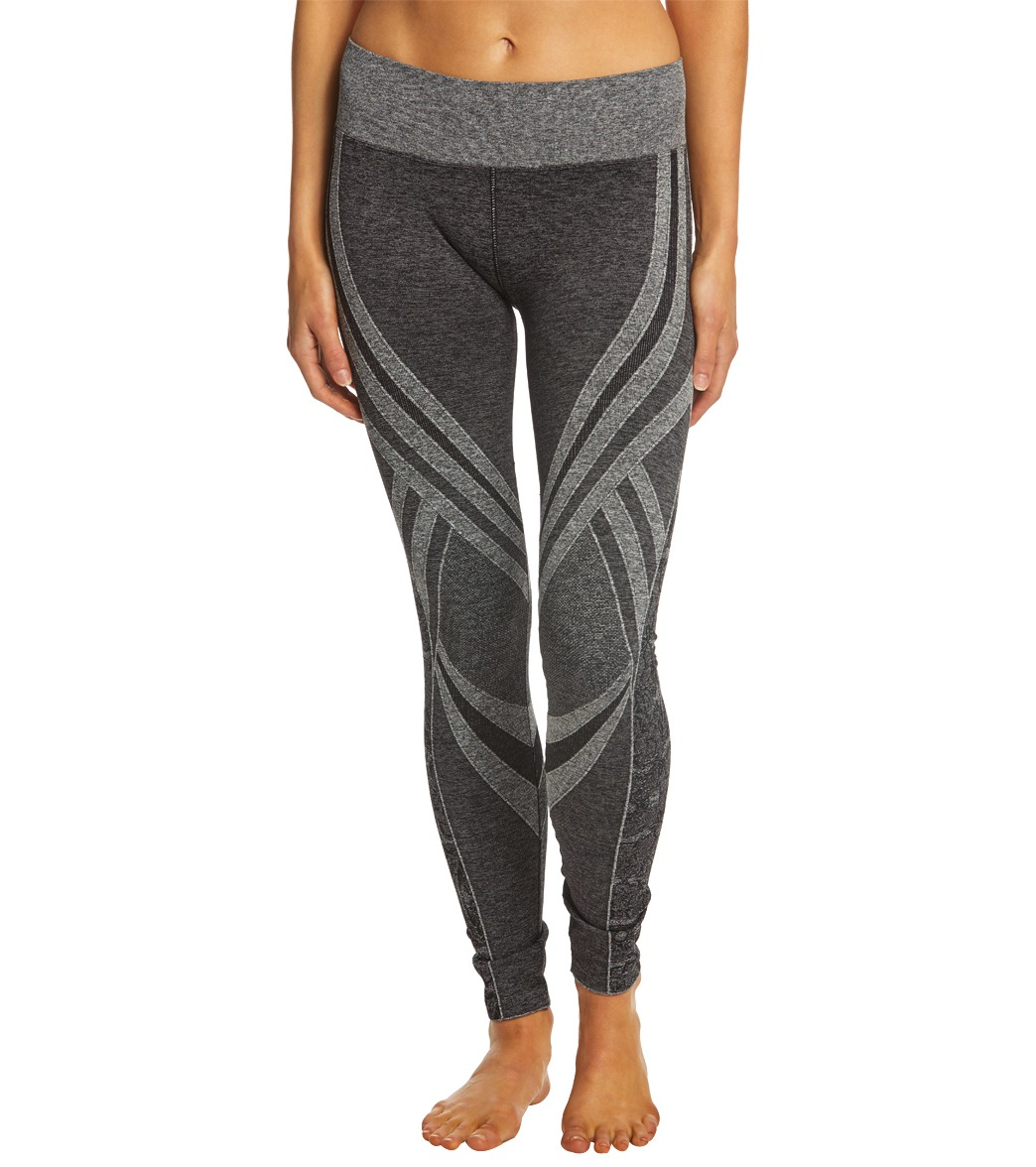 ff682cdf380c1 NUX Ebb & Flow Seamless Yoga Leggings at YogaOutlet.com - Free Shipping