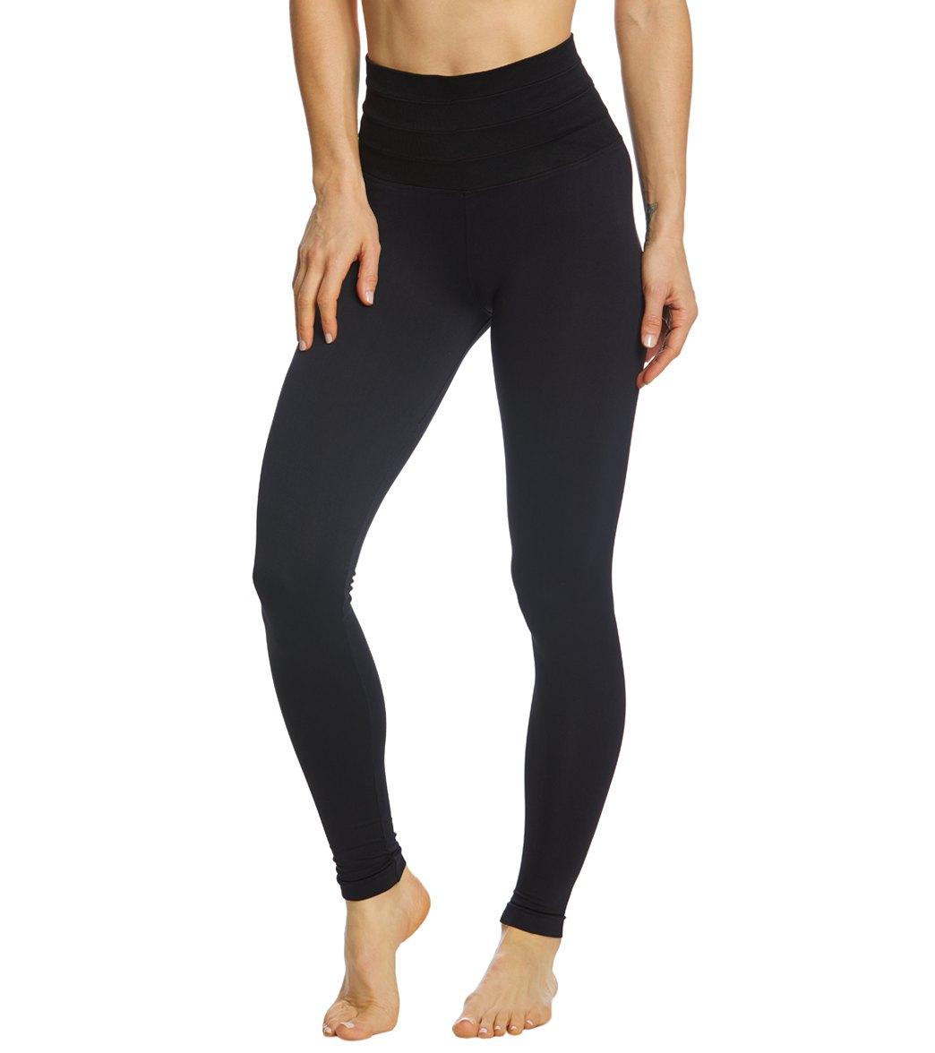 1fd0caab00221 NUX CJ High Waist Seamless Yoga Leggings at YogaOutlet.com - Free ...