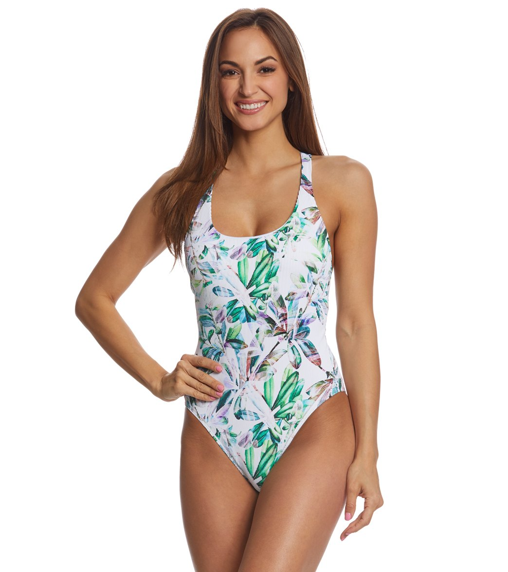 fa9e6eabff49bd Next Minimalist Capri One Piece Swimsuit at SwimOutlet.com - Free Shipping