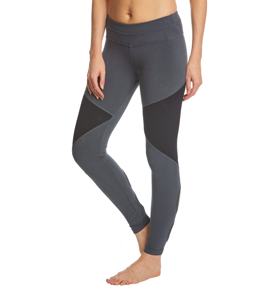 7fdbb5a722e1c Hard Tail Low Rise Double Loop Cotton Yoga Leggings at YogaOutlet ...