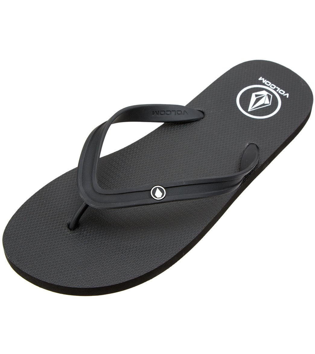 5351e11142ac42 Volcom Men s Rocker 2 Solid Flip Flop at SwimOutlet.com