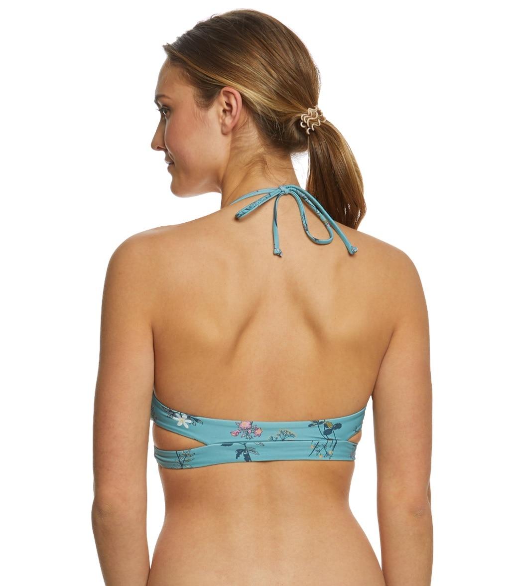 3f88de22960 O'Neill Piper Floral Wrap Bikini Top at SwimOutlet.com - Free Shipping