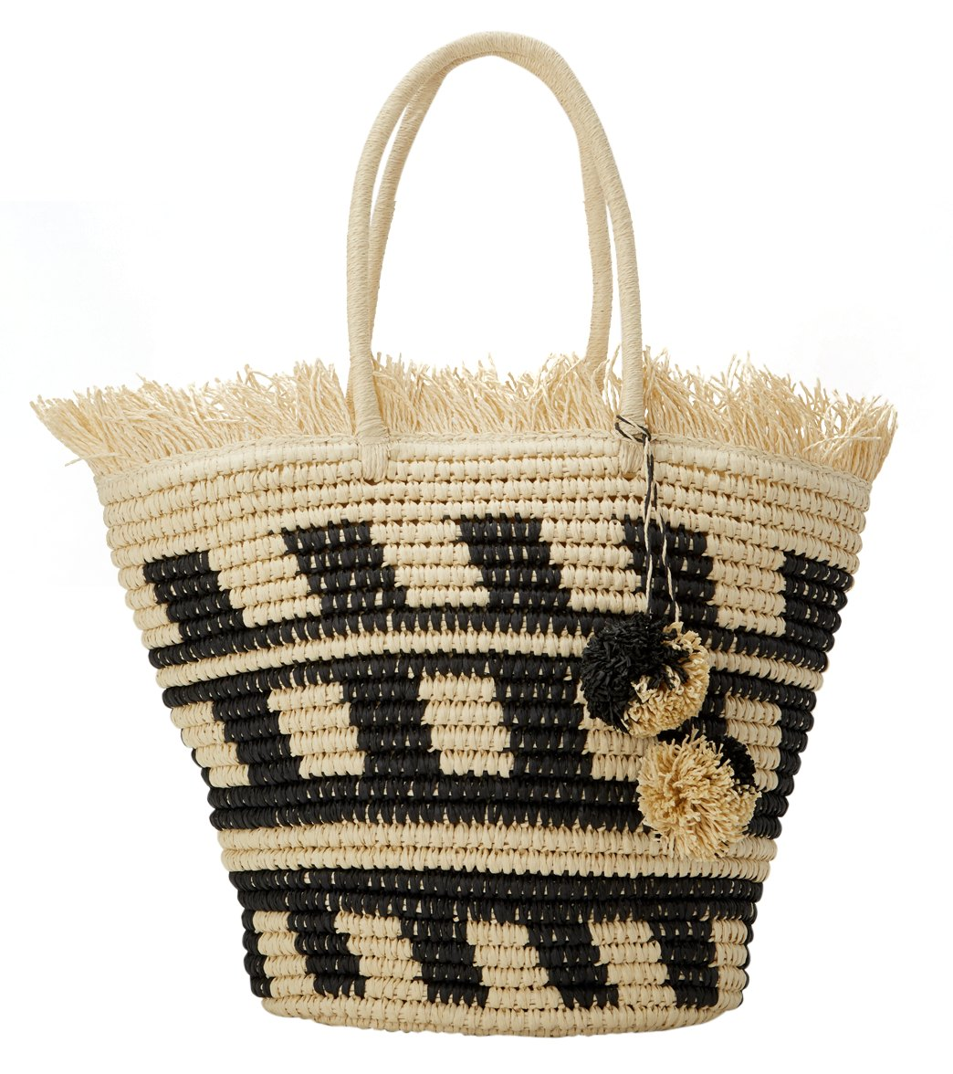 813931eae Pia Rossini Bermuda Straw Tote Bag at SwimOutlet.com - Free Shipping