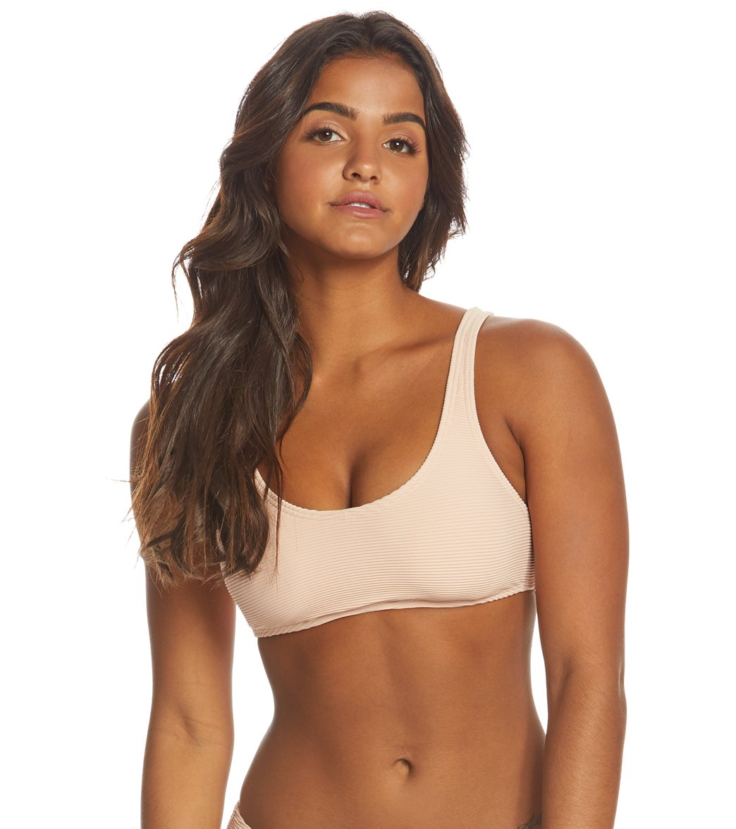 8bdf12d266 Billabong Tanlines Crop Tank Bikini Top at SwimOutlet.com - Free Shipping