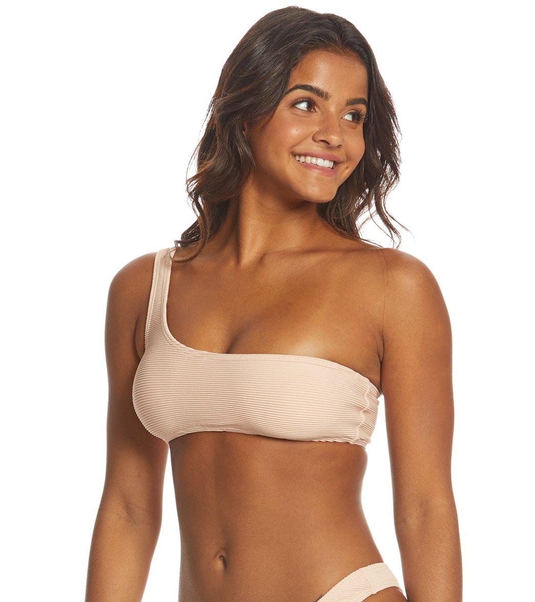 85fddc2514e Billabong Tanlines One Shoulder Bikini Top at SwimOutlet.com - Free ...