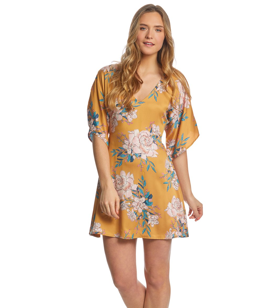 6e3fa86a28 Billabong Golden Light Dress at SwimOutlet.com - Free Shipping