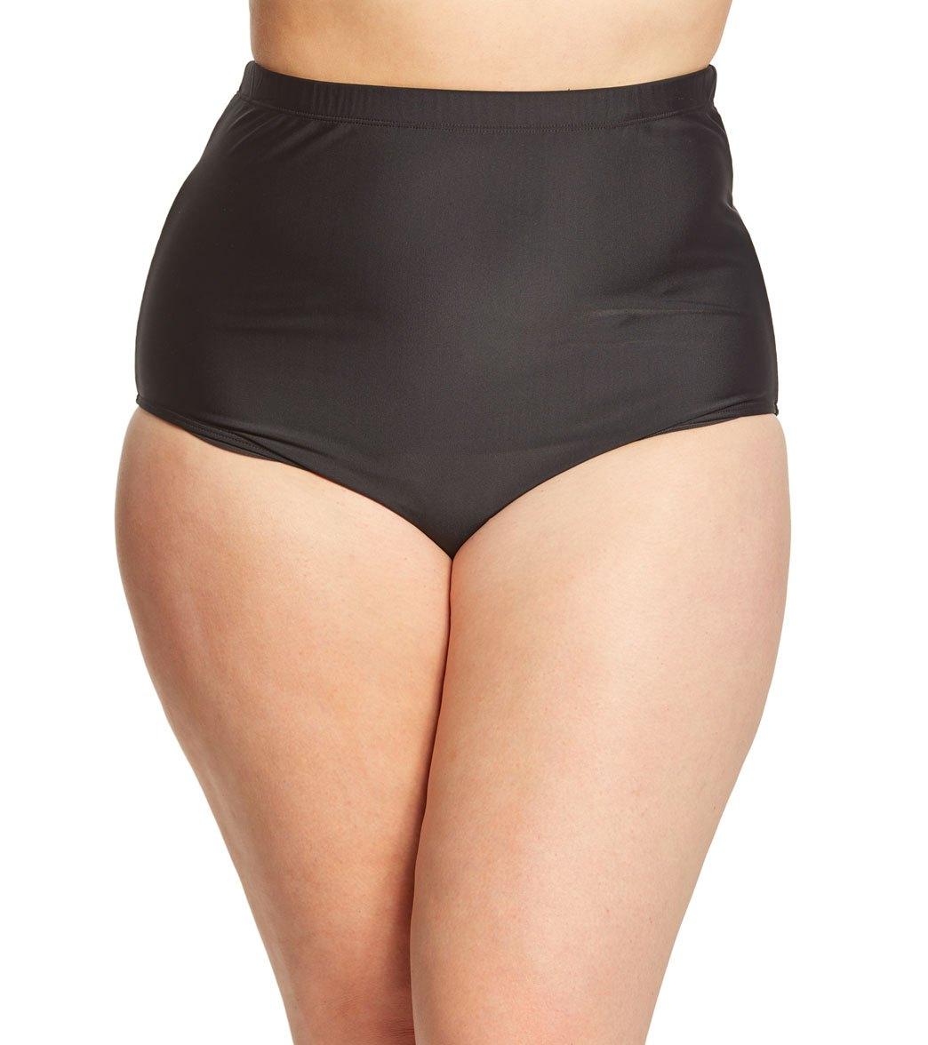 0fdb8dd03d2 ClubSwim Couture Plus Size Ultra High Waist Swim Brief Bottom at  SwimOutlet.com