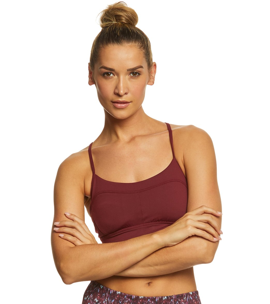 25f57d4ab9 Manduka Pintuck Yoga Sports Bra at YogaOutlet.com - Free Shipping