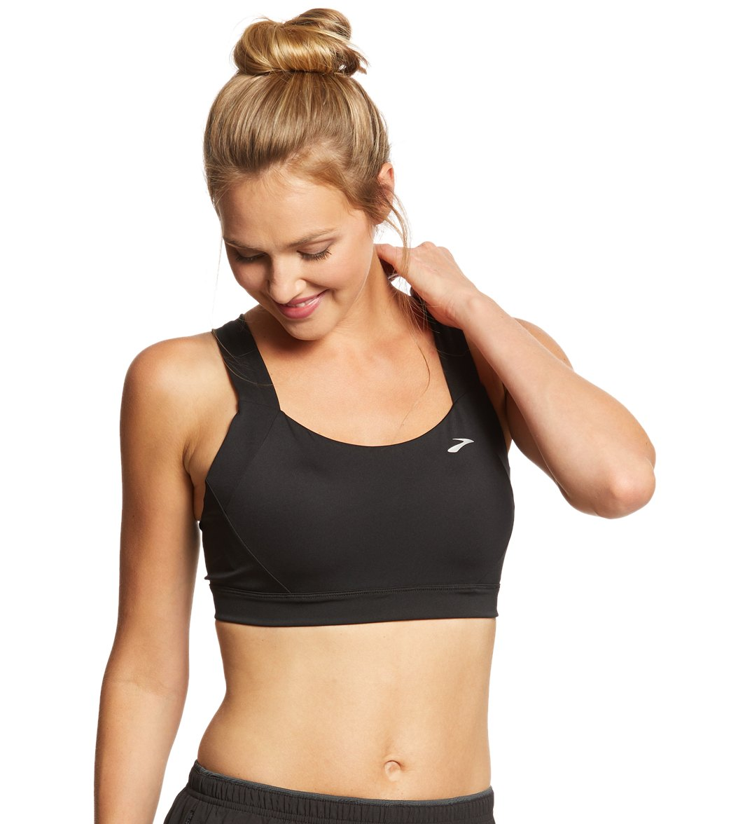 ae6ce8340fca1 Brooks Women's Uphold Crossback DD/E Cup Sports Bra at SwimOutlet.com