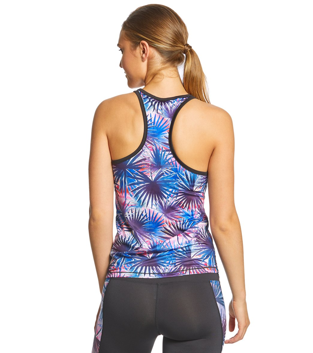 b7dcd703a5 Pink Lotus Movement Unplug Support Tank at YogaOutlet.com