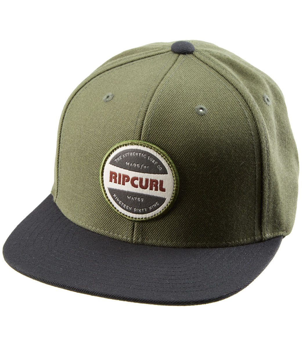 Rip Curl Staple Snapback Cap at SwimOutlet.com c27363e3d15