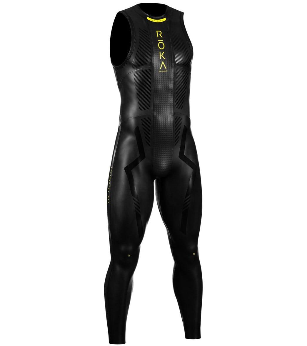 33882b4525 ROKA Men's Maverick Pro II Sleeveless Tri Wetsuit at SwimOutlet.com - Free  Shipping