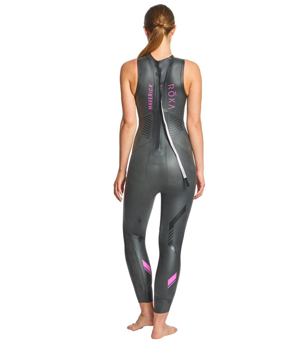 ROKA Women s Maverick Pro II Sleeveless Tri Wetsuit at SwimOutlet ... 2df0055f0