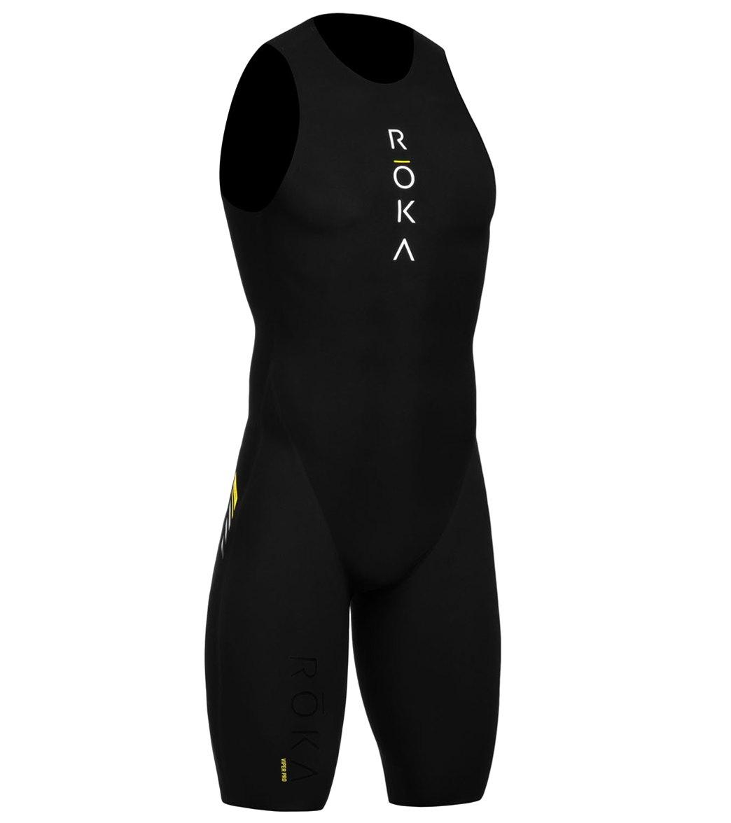 a1538605b4ad5 ROKA Men's Viper Pro Swimskin at SwimOutlet.com - Free Shipping