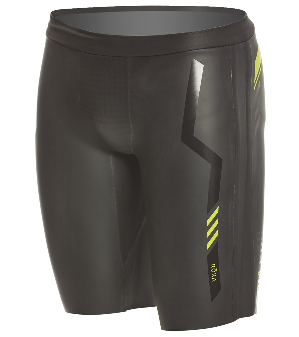 4769b1c8ec ROKA Men's SIM Pro II Neoprene Shorts at SwimOutlet.com - Free Shipping
