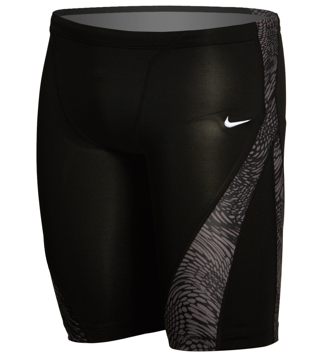 2a5442f339 Nike Men s Geo Alloy Jammer Swimsuit at SwimOutlet.com