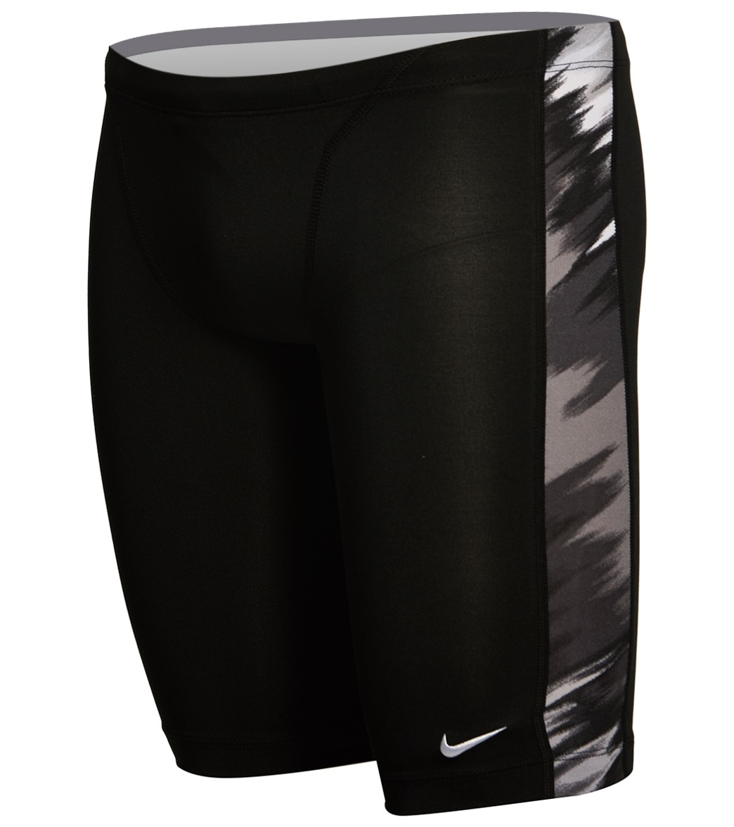 435fa7ba19 Nike Men's Immiscible Jammer Swimsuit at SwimOutlet.com - Free Shipping
