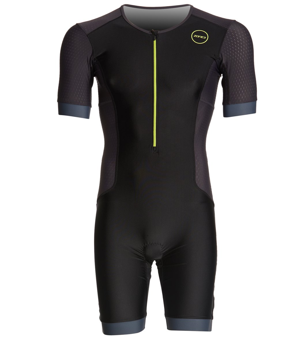8ed6fa0b67 Zone 3 Men's Aquaflo Plus SS Trisuit at SwimOutlet.com - Free Shipping