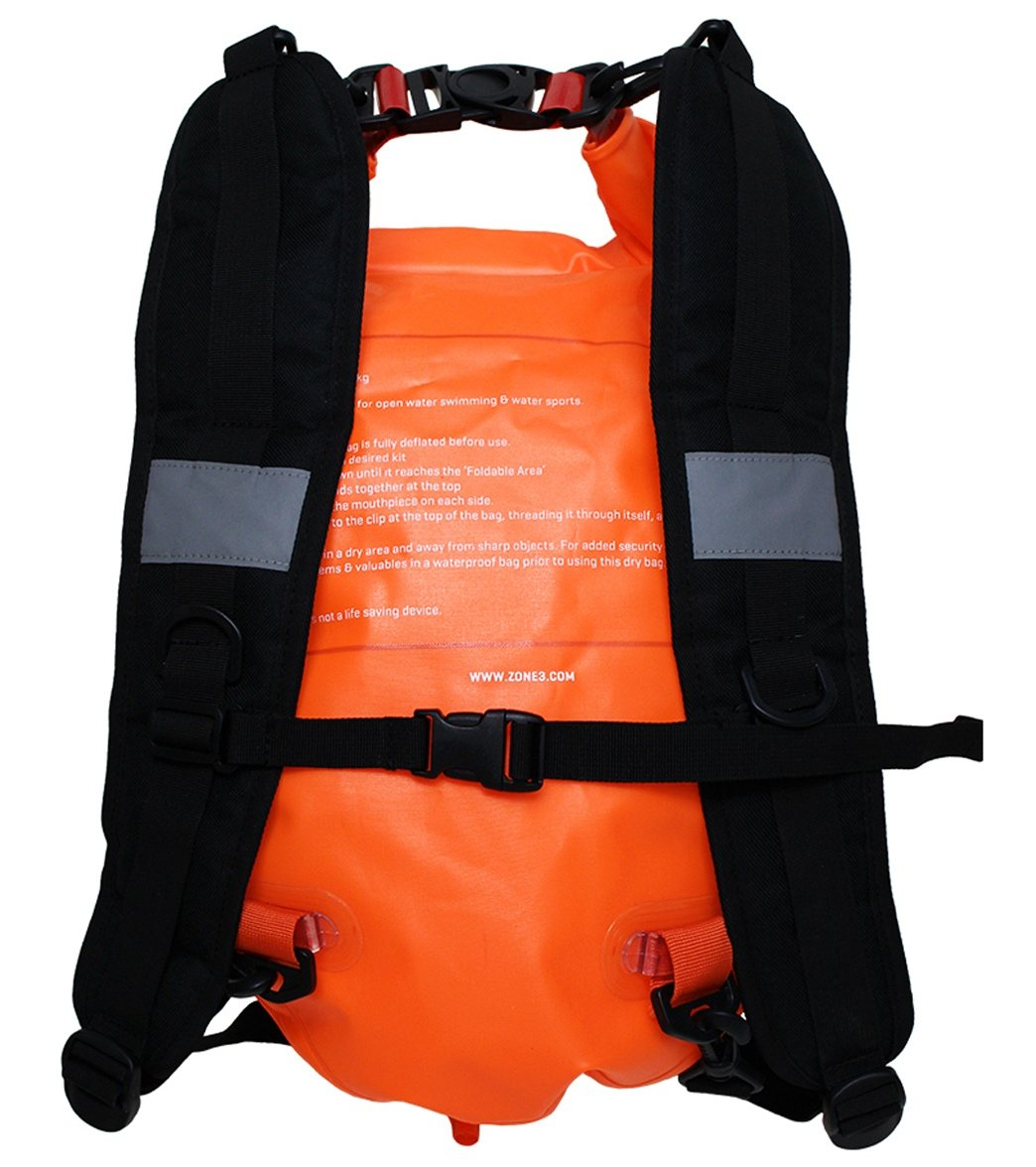 Zone 3 Swim Run Backpack Dry Bag Buoy 28l