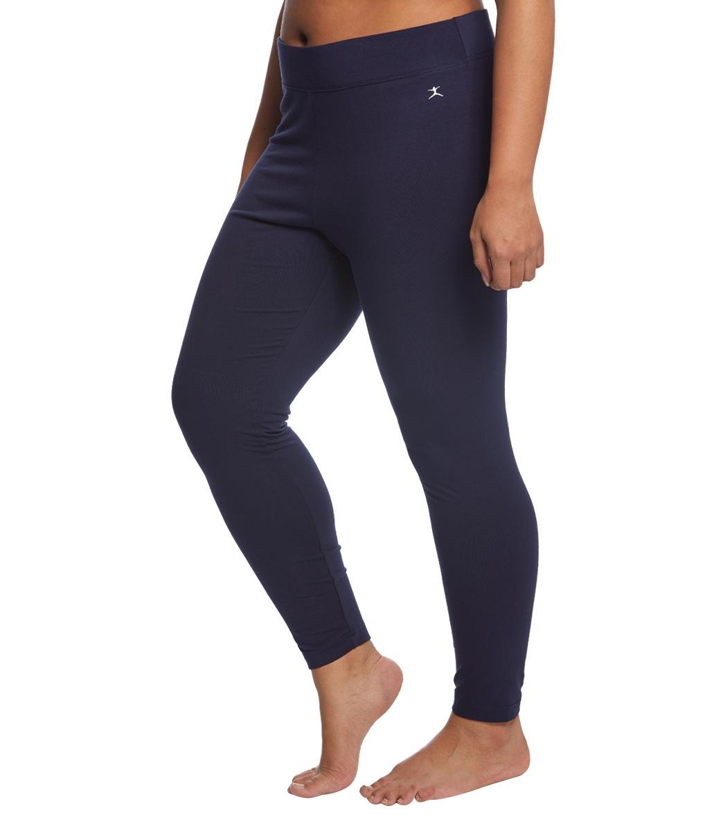 a0ad0d02f8d Danskin Plus Size Ankle Leggings at YogaOutlet.com
