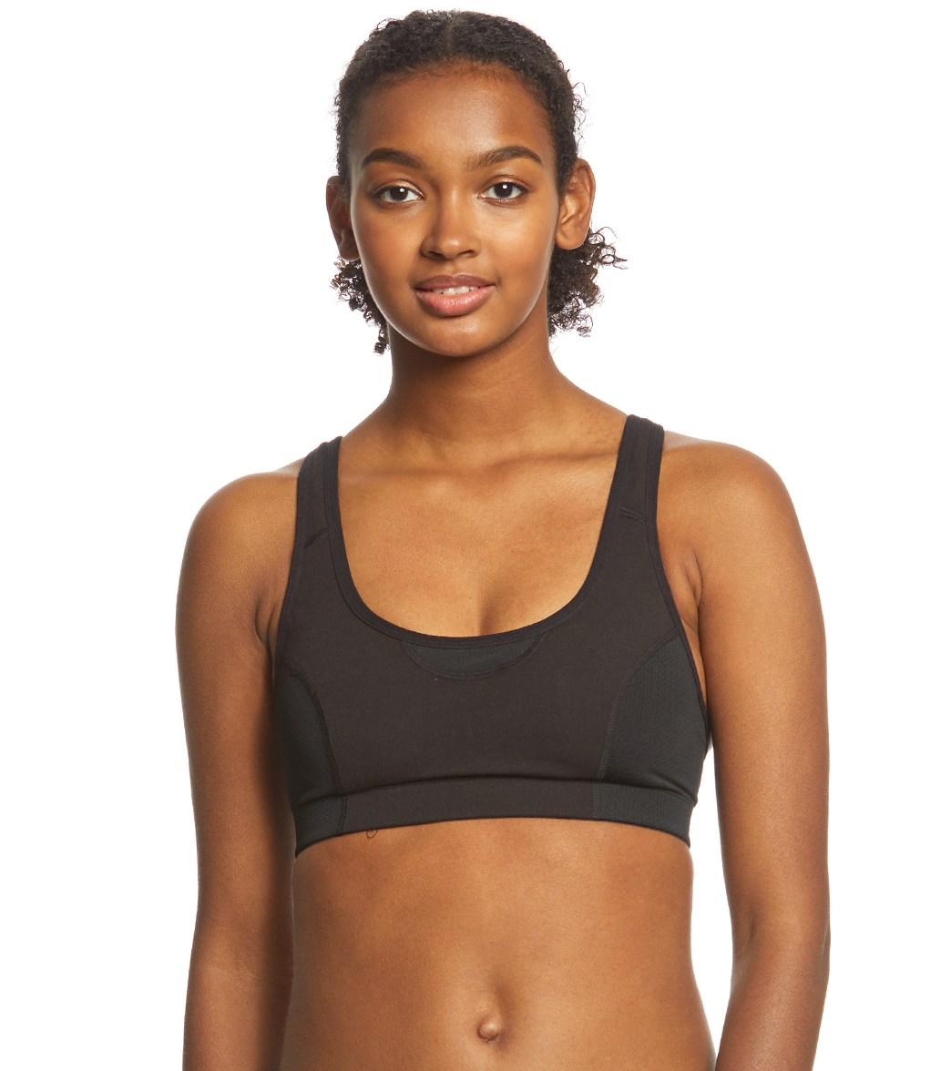535db53641 Danskin Wicking Cotton Comfort Yoga Sports Bra at YogaOutlet.com