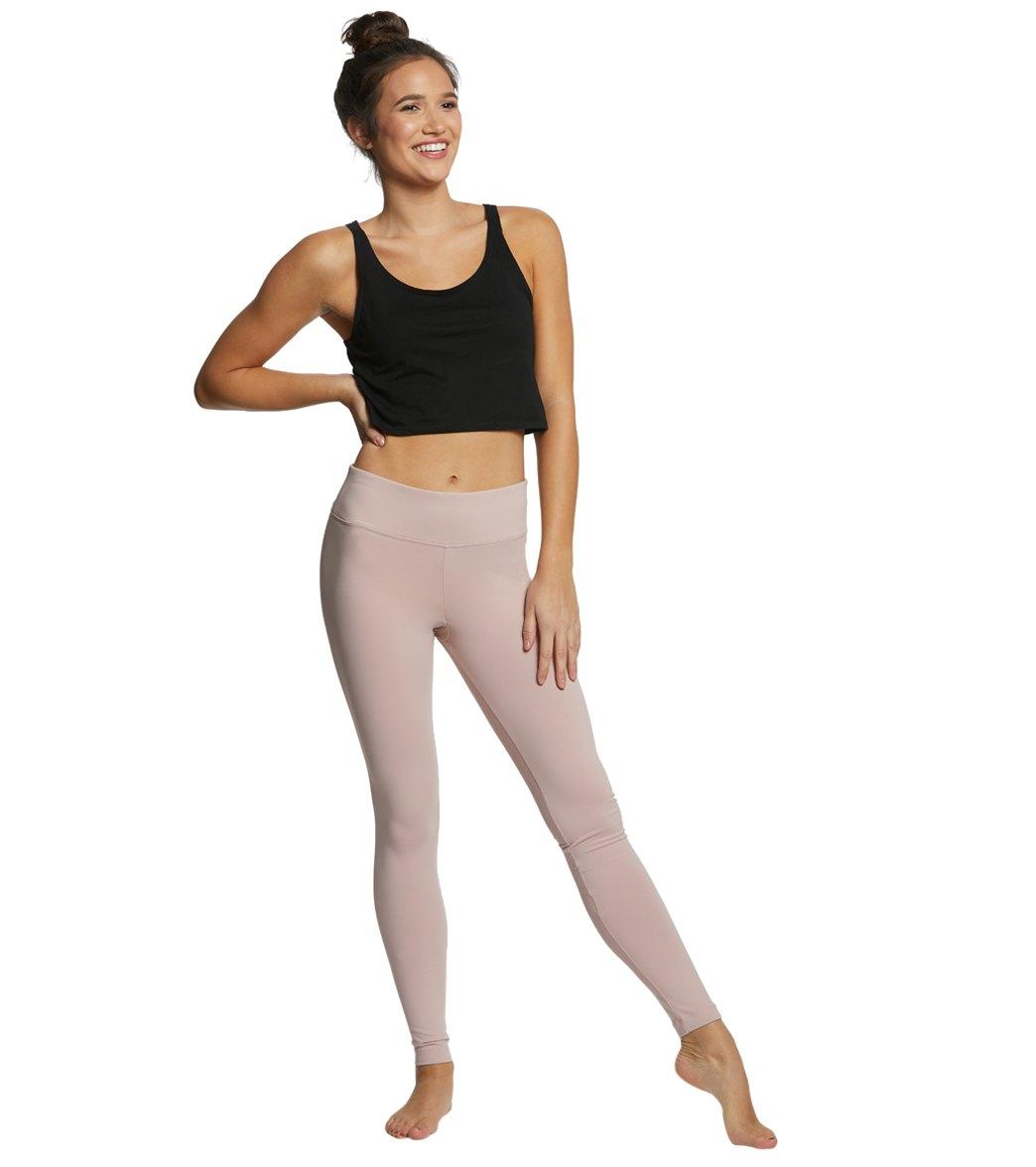 0bdee5116c5a6 Danskin Body Fit Ankle Yoga Leggings at YogaOutlet.com
