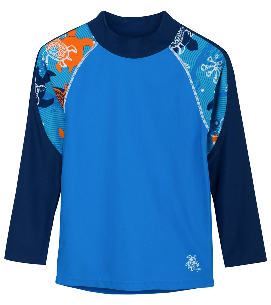 81cce78066 Tuga Boys  Offshore Long Sleeve Rash Guard (2 yrs-14 yrs) at SwimOutlet.com