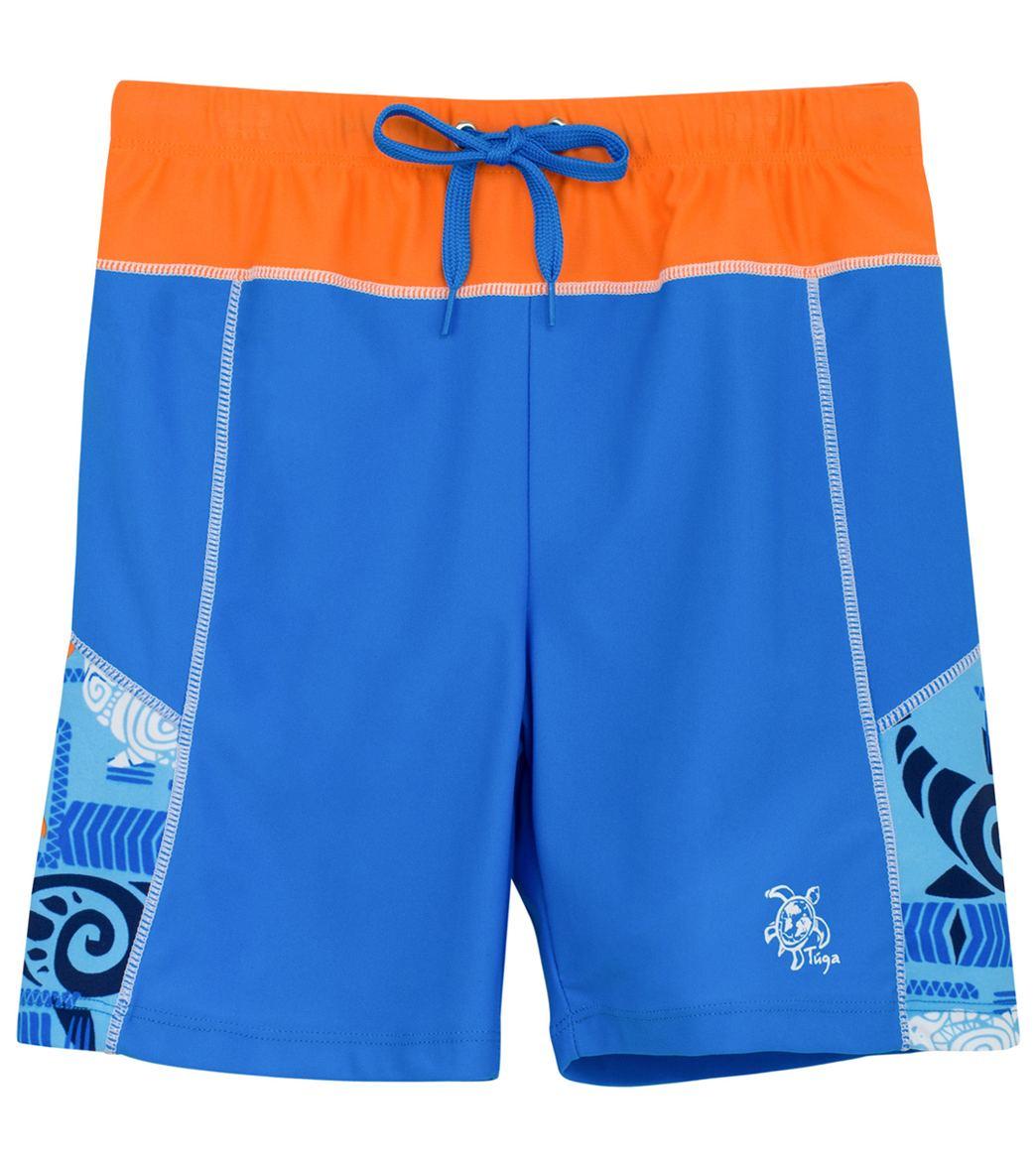 c6dbd6dae8 Tuga Boys' South Swell Swim Shorts (Toddler, Little Kid, Big Kid) at  SwimOutlet.com