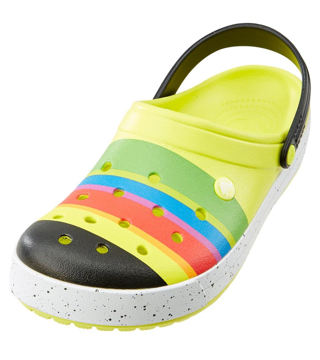 505a5333034 Crocs Crocband Burst Clog at SwimOutlet.com