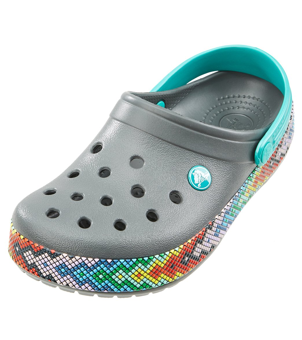 6ec61bd7dfda23 Crocs Crocband Gallery Clog at SwimOutlet.com