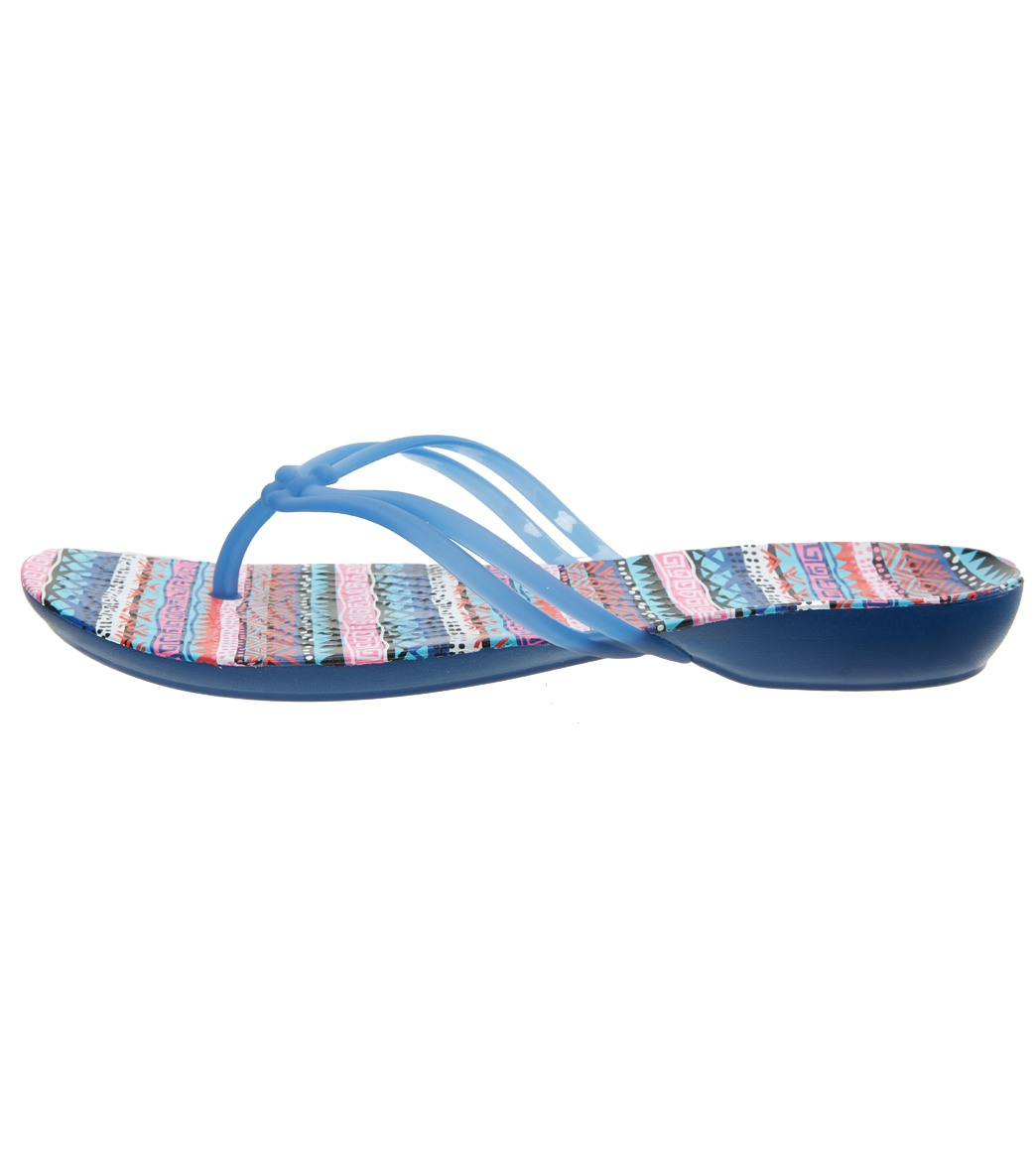 8ed9b7009 Crocs Women s Isabella Graphic Flip Flop at SwimOutlet.com