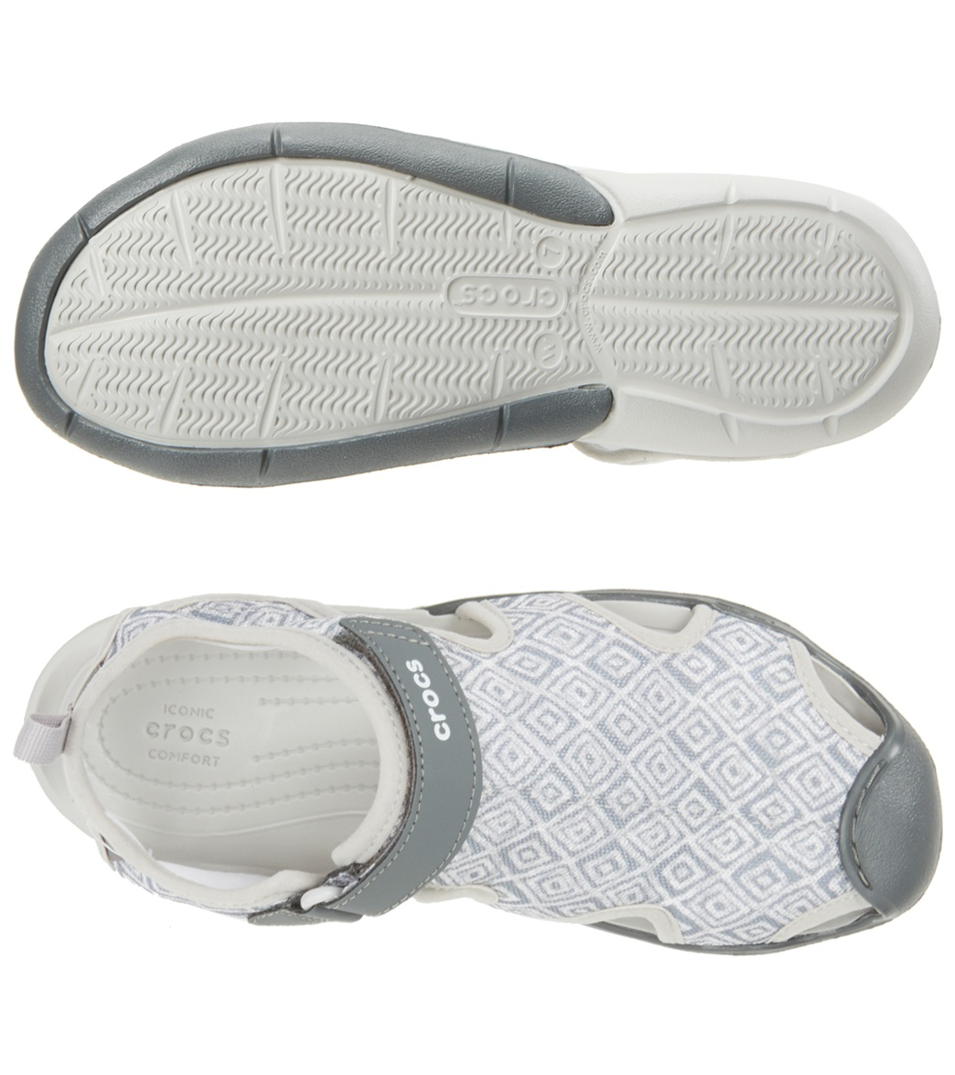 ffe047260a4ea2 Crocs Women s Swiftwater Graphic Mesh Sandal at SwimOutlet.com ...
