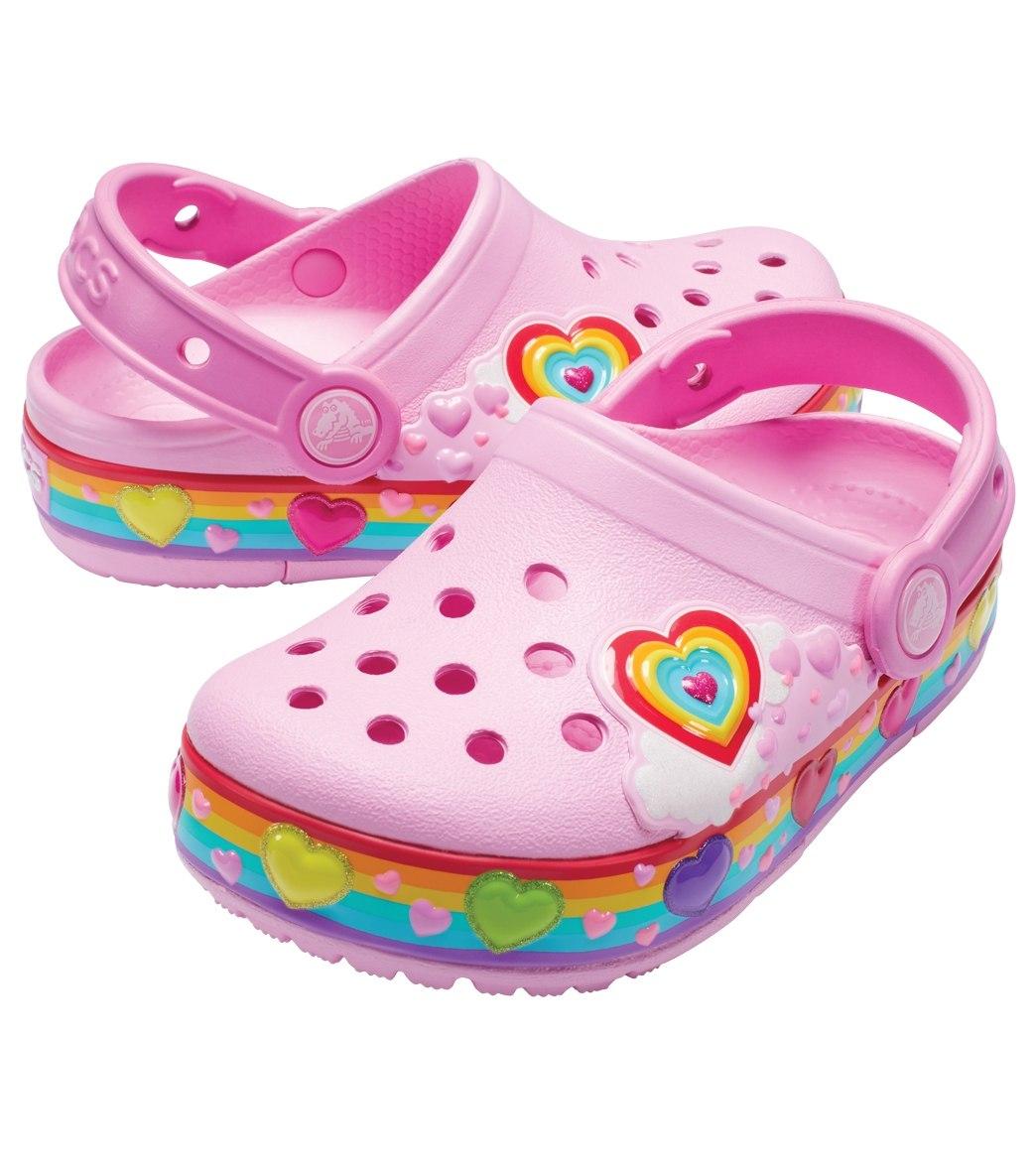 b177cbe2a50b58 Crocs Girls  Crocband Fun Lab Lights Clog (Toddler