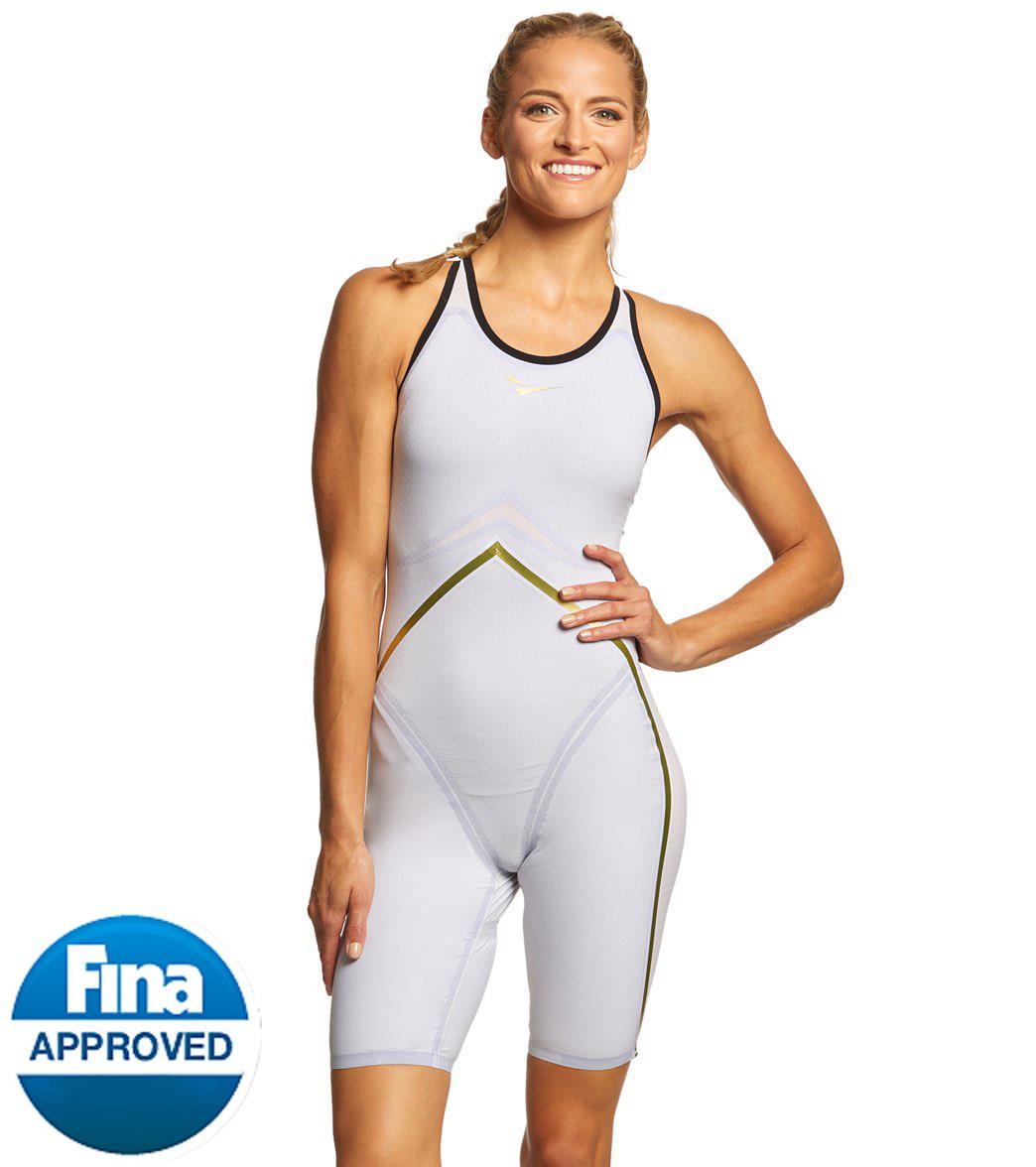 FINIS Women's Rival Open Back Kneeskin Tech Suit Swimsuit