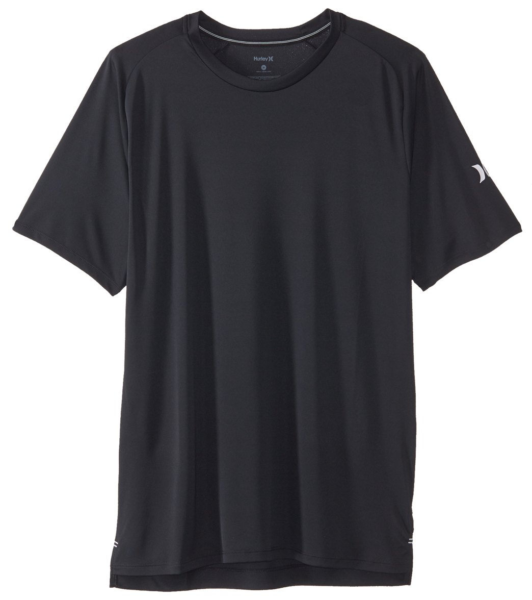 31bcff5d Hurley Men's Icon Quick Dry Short Sleeve Surf Shirt at SwimOutlet.com